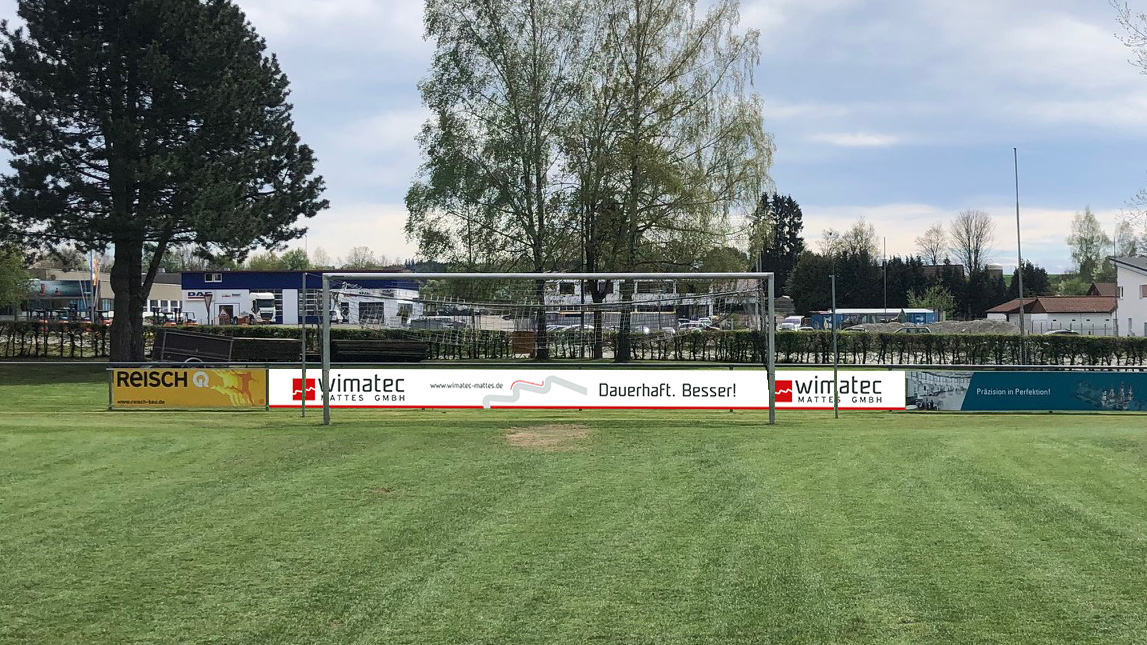 wimatec Mattes GmbH - Bande Sportstadion